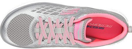 SkechersFlex AppealArctic Chill - Scarpe da Ginnastica Basse Donna Gray/Pink