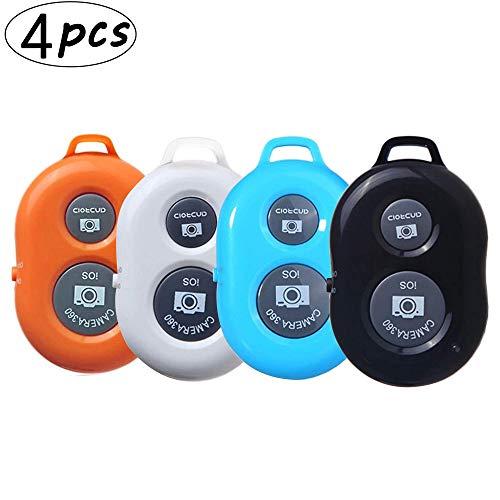 4 pzs Control Remoto Bluetooth-Control Remoto Cámara