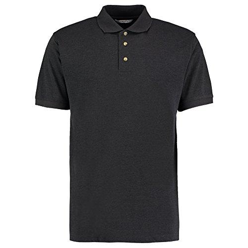 Kustom Kit Herren Modern Poloshirt Graphit