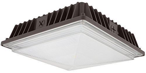 Bronze Canopy (AMERICAN LIGHTING GC-C1-40-DB Exterior Solutions Collection LED COB Canopy Light, Dark Bronze by American Lighting)