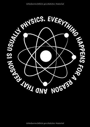 Notizbuch: Wissenschaft Physik Magie Religion Lustig Geschenk 120 Seiten, A4, Liniert, Tagebuch