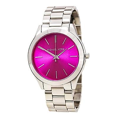 Michael Kors MK3291 - Reloj con correa de acero para mujer, color rosa / gris