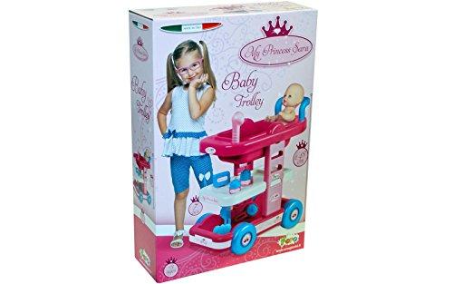 UNOGIOCHI Faro Princess Sara Bagno Trolley per Bambini Giocattolo Regalo Ideale