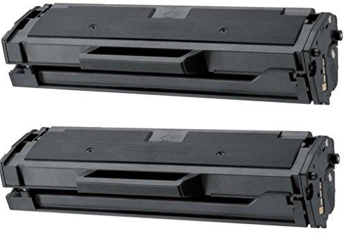 Prestige Cartridge MLT-D101S Kit 2 Toner compatibile per Stampanti Samsung ML-2160/ML-2165/SCX-3400/SCX-3405/SF-760, nero, 2 Pezzi