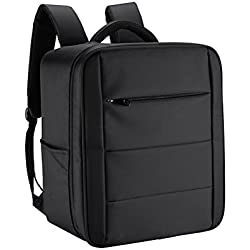 Mochila de viaje para DJI Phantom 4, mochila de transporte LEDMOMO Funda de transporte portátil profesional para llevar Drone DJI Phantom 4/4 Pro (Negro)
