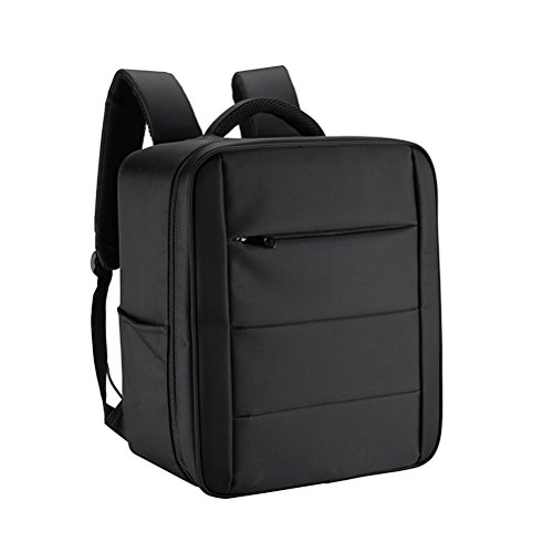 ultnice Drone Carrying Notebook Professionelle Rucksack Wasserdicht Carry Case für DJI Phantom 4/4 Pro bringen (schwarz)