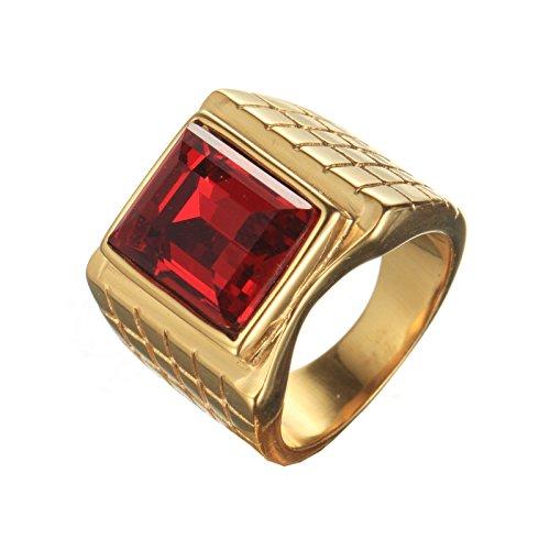 pmtier-uomo-acciaio-inossidabile-marcatore-anello-con-rettangolo-rosso-pietra-oro-17
