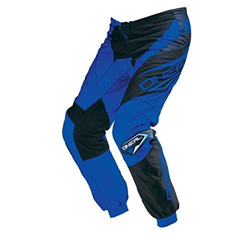 O'Neal Element MX Hose RACEWEAR Blau Schwarz Motocross Enduro Offroad Cross Motorrad Quad, 0124R-0, Größe 36/52 (Hose Motocross Blau)