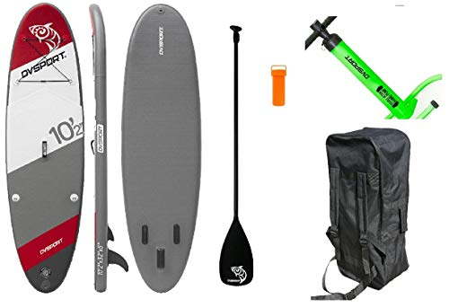 DevesSport Arrow 1, Paddle Board, color: Blanco / Rojo