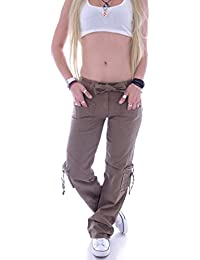 b17da572b3df6e Style-Station Damen Cargohose Stoffhose Cargo Hose Hüfthose Jeans XS 34 S  36 M 38 L 40 XL 42 XXL 44…