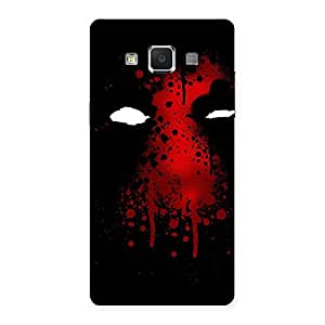 Enticing Horror Red Back Case Cover for Samsung Galaxy A5