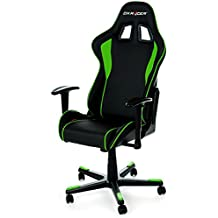 DXRacer F-Series - Silla, color negro y verde