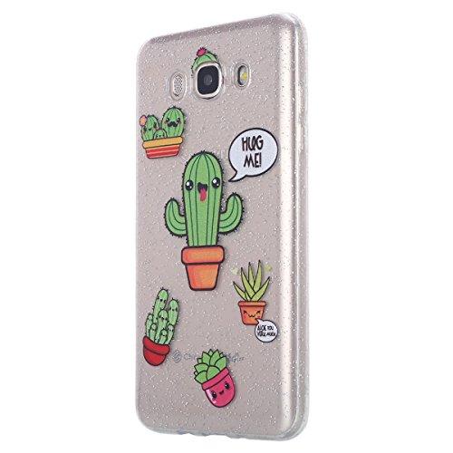 custodia samsung j7 2016 silicone cactus
