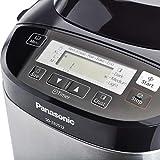 Panasonic Brotbackautomat mit 2 Knethaken SD-ZB2512KXE (Brotbackmaschine, 33 Backprogramme, Brotbackautomat glutenfrei, Bread Maker, Edelstahl)