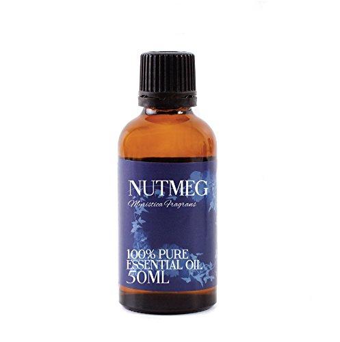 Mystic Moments Noix De Muscade Huiles Essentielles - 50ml - 100% Pur