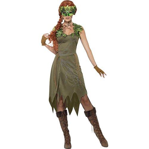 Damen Kostüm Märchen Waldfee Nymphe Karneval Fasching (Kostüm Nymphen)
