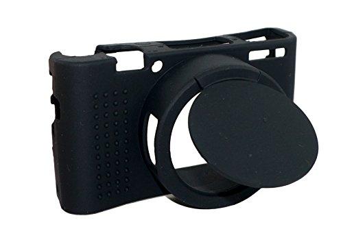 Abnehmbare Objektivabdeckung Schützende Silikon Gel Gummi Weiche Kamera Fall Abdeckung Tasche Für Sony Cyber-shot DSC- RX100 III / RX100M3 Kamera Schwarz