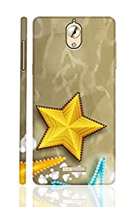 SRS Two Colour Of Stars 3D Back Cover for Coolpad Mega 2.5D