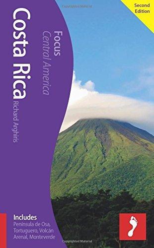 Costa Rica Footprint Focus Guide: Includes Peninsula de Osa, Tortuguero, Volcan Arenal, Monteverde by Richard Arghiris (1-Sep-2014) Paperback