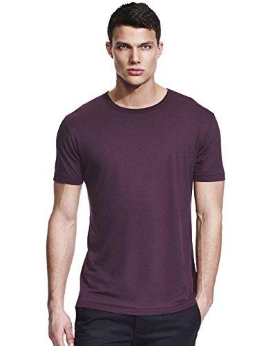 Da Londra Bamboo & Organic Cotton Plain T Shirts 3-Pack Bundle