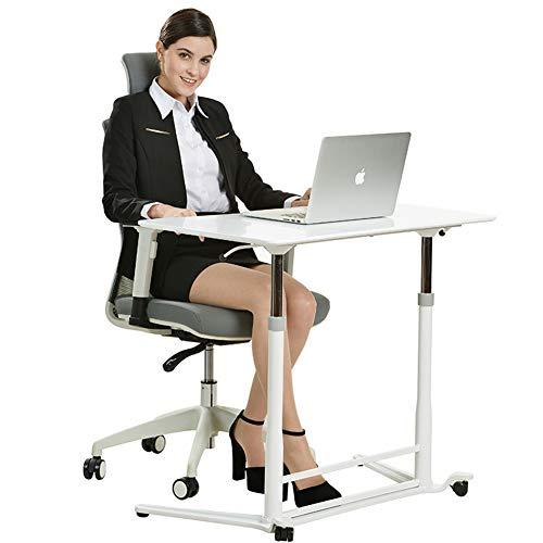 XUE Mobiler Hubtisch Laptop Schreibtisch Station Schreibtisch Nachttisch Kleiner Konferenztisch Schreibtisch Sitzen und Stehen Dual-Use Heben und...