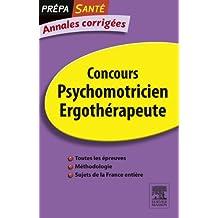 Annales corrigées Concours Psychomotricien Ergothérapeute