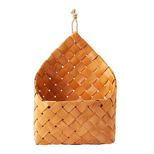 Starter cedro naturale, tessuto a parete cestino pensile flowerpot decorazioni da parete cesto portaoggetti da appendere