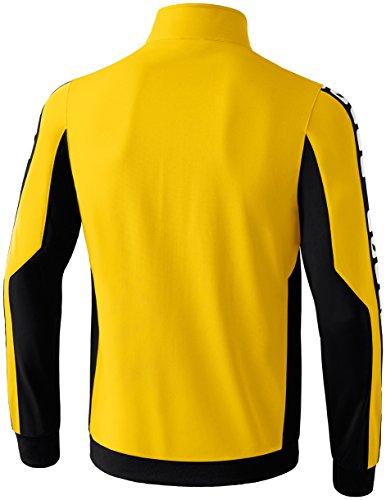 CLASSIC 5-CUBES Polyesterjacke Gelb/Schwarz/Weiß