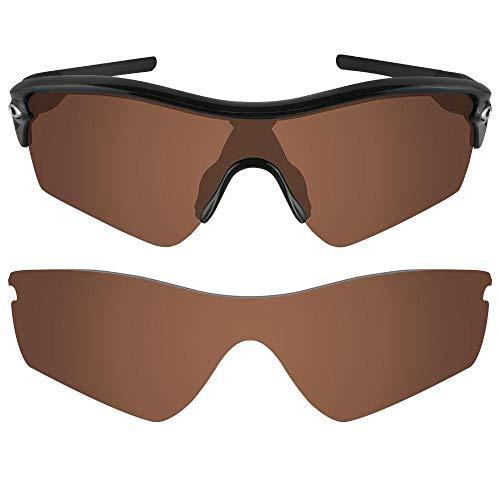 sunglasses restorer Kompatibel Ersatzgläser für Oakley Radar Path, Polarisierte Brown Linsen