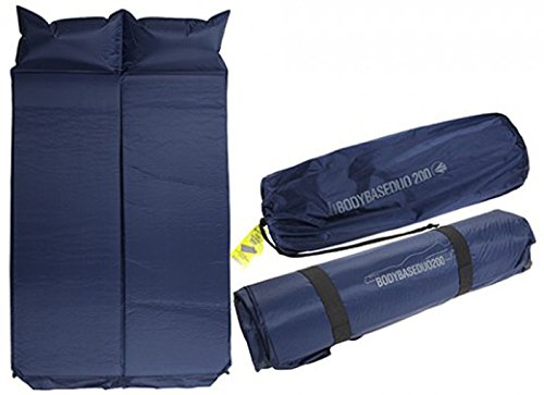 Body Base Duo - Double Self Inflating Mattress & Pillow - Summit (Self-inflating-boden)