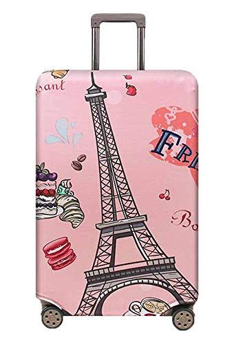 Kenebo Elastico Viaggio Viaggio Copri Bagagli Viaggio Accessori Valigia Copre Bagagli Copertura Di Carrelli Torre di Parigi 18-21 Inch