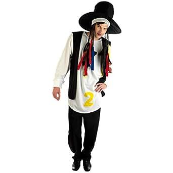 Fun Shack Adult Boy George 80s Pop Star Costume - MEDIUM
