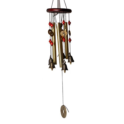 wind-chimes-with-5-bells-copper-clock-for-outdoor-yard-garden-or-indoor-livingpusheng