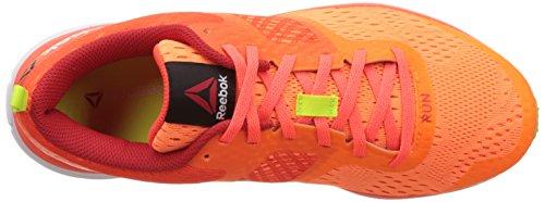 Reebok , Baskets pour homme Orange / rouge / jaune (pêche électrique / rouge Atomic / rouge moteur / jaune solaire)