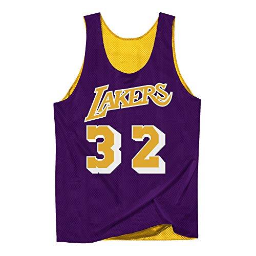 Mitchell & Ness Los Angeles Lakers Magic Johnson Reversible Mesh Jersey - NBA Jersey (L) -