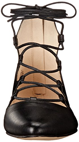 Nine West Sign Me Up Cuir Sandales Black