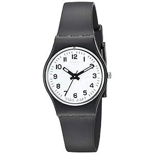 Swatch Reloj Analógico de Cuarzo para Mujer con Correa de Plástico –