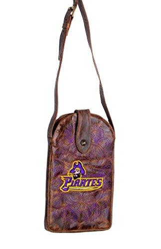 Gameday Boots NCAA East Carolina Pirates Damen-Geldbörse, Messing, Einheitsgröße - Carolina Messing