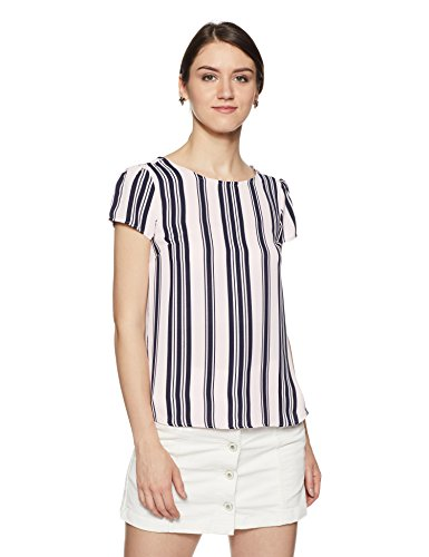 Allen Solly Women's Striped Regular Fit Shirt