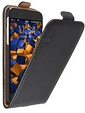 mumbi PREMIUM Etui à clapet pour iPhone 6 6s - Étui de protection à rabat Flip Style noir