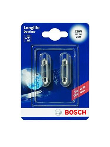 Bosch 1987301060 Autolampe C5W LONGLIFE - Sofittenlampe