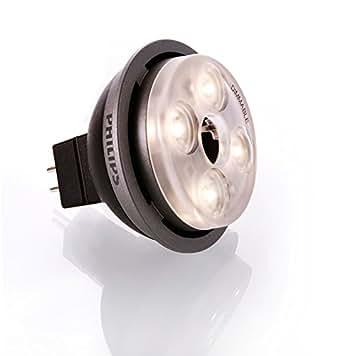philips m ledspot 10 watt 830 gu5 3 12v 36 grad dimmbar 3000 kelvin warmweiss. Black Bedroom Furniture Sets. Home Design Ideas