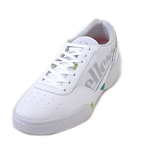 ellesse Herren Piacentino Fitnessschuhe Mehrfarbig (White/Lime Green 000) 44.5 EU