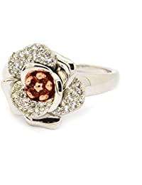 Clogau Moonlight Rose Topaz Ring Size N