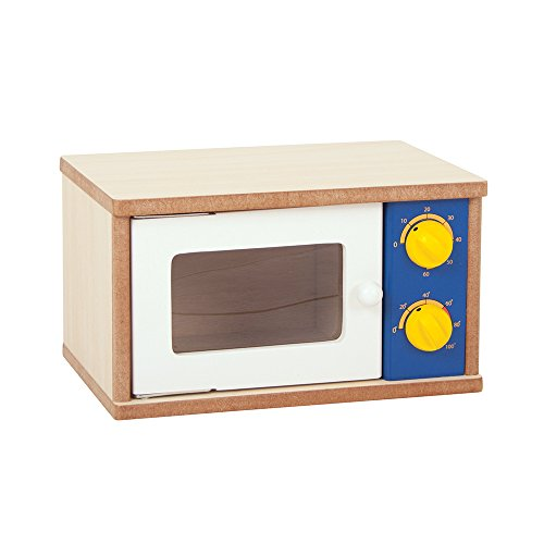 Santoys Wooden Microwave - Play Kitchen Accessories