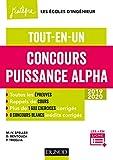 Concours Puissance Alpha - Tout-en-un 2019-2020 (Concours Ecoles d'ingénieurs) - Format Kindle - 9782100790845 - 17,99 €