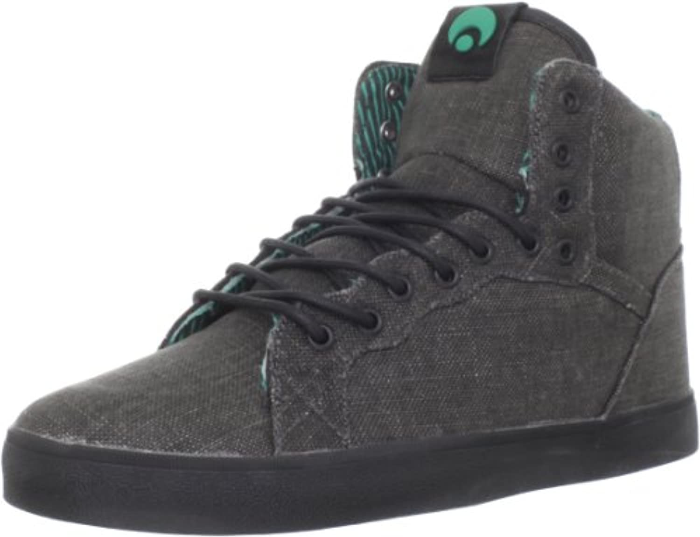 Osiris Schuhe Grounds Black Teal Stripes Sneaker