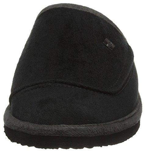Animal Herren Halfpipe Pantoffeln Schwarz (Black)