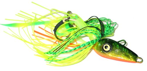 Braid Sea Fox Jig, 2 Haken, 1,9 ml, Dorado -