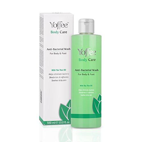 Yoffee – Gel de ducha Anti-Bacteriano corporal - 300ML – Previene, elimina bacterias, malos olores, hidrata y calma la piel